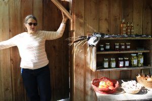 Lynda's on-site farm stand